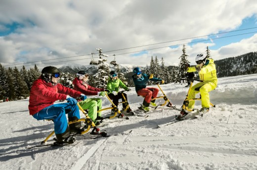 Funsport im Winterurlaub